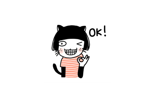 MEAW by OH+ >> my first Line Sticker Pack is available now!